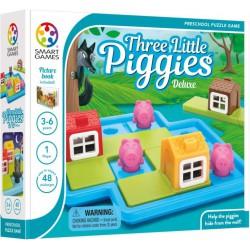 Smart Games Three Little Piggies Deluxe Trzy małe świnki