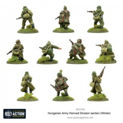 Bolt Action Hungarian Army Honved Division Section Winter