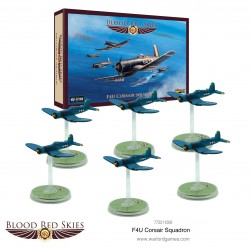 Blood Red Skies F4U Corsair Squadron