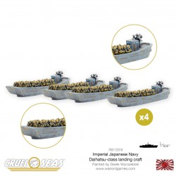 Cruel Seas Imperial Japanese Navy Daihatsu class landing craft