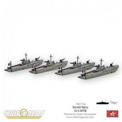 Cruel Seas Soviet G-5 MTBs