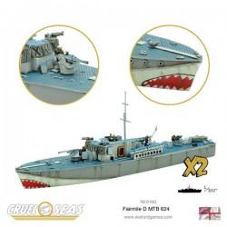 Cruel Seas Fairmile D MTB 624