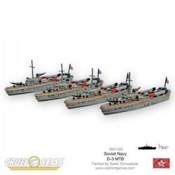 Cruel Seas Soviet D-3 MTBs
