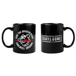 """Kubek Days Gone """"Broken Road"""" Standard Black Mug GE3753"""
