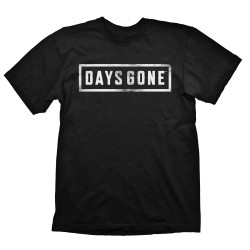 Days Gone Logo Black T-Shirt Size XL
