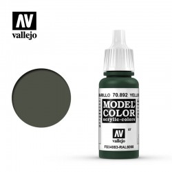 Farba Vallejo Model Color 70892 Yellow Olive 17ml