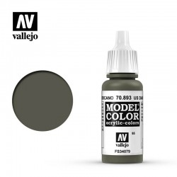 Farba Vallejo Model Color 70893 US Dark Green 17ml