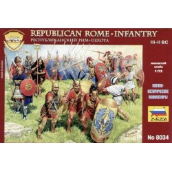 Zvezda 8034 1:72 Republican Rome Infantry III II B.C