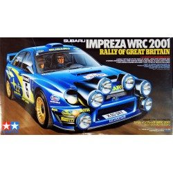 Tamiya 24250 1:24 Impreza WRC 2001 Great Britain