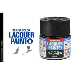 Tamiya 82103 LP-1 Farba Black 10 ml