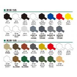 Tamiya 82102 LP-2 Farba White 10 ml