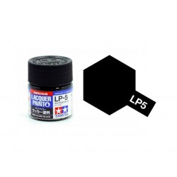Tamiya 82105 LP-5 Farba Semi Gloss Black 10 ml