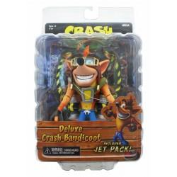 NECA Crash Bandicoot with Jetpack Deluxe Action Figure 14cm