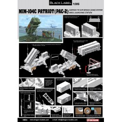 Dragon 3604 1:35 MIM-104C Patriot SAM