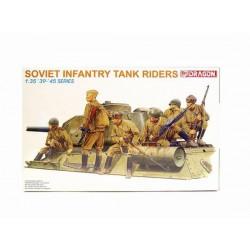 Dragon 6197 1:35 Soviet Infantry Tank Riders