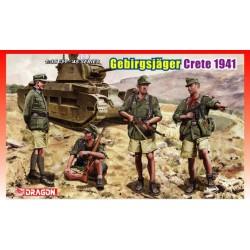 Dragon 6742 1:35 Gebirgsjägers Crete 1941