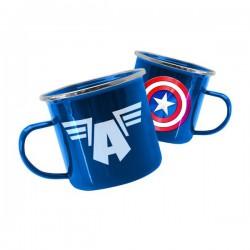 MARVEL - Marvel Avengers Captain America Tin Mug