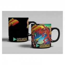 NINTENDO -  Mug Heat Change Super Metroid