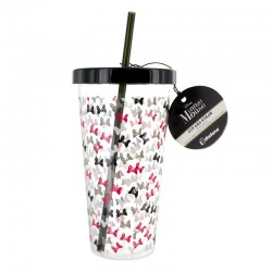 DISNEY - Minnie Mouse Cup and Straw