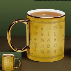 ZELDA - Mug Glossary gold x1