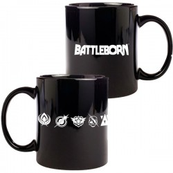 BATTLEBORN - Mug Faction Logos x1