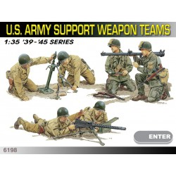 Dragon 6198 1:35 U.S. Army Support Weapon Teams