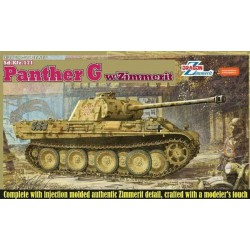 Dragon 6384 1:35 Panther G with Zimmerit