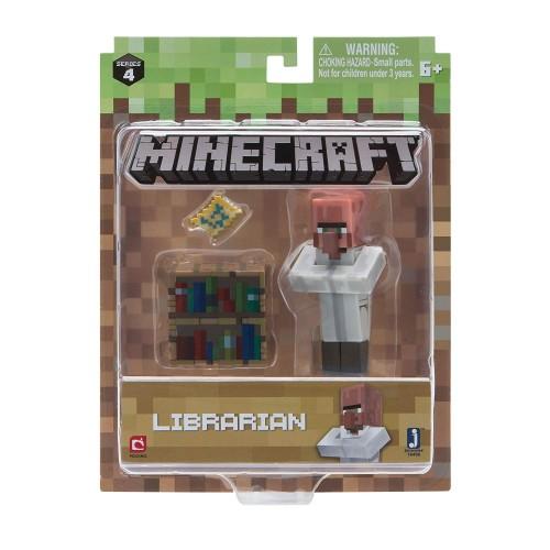Minecraft 16496 Librarian Villager Figure