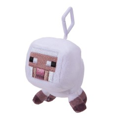 Minecraft 16675 Mini Plush With Clip White Sheep Microwave 1