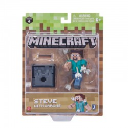 Minecraft 19971 3'' Action Figure Steve with Arrows