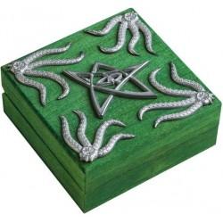 Szkatułka na kości: Cthulhu - Zielona