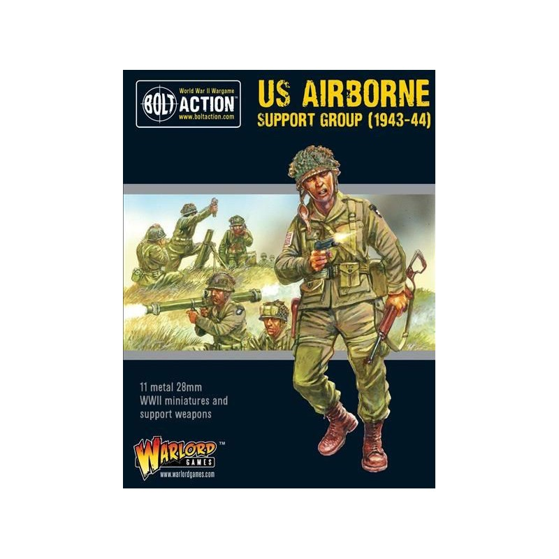 Bolt Action US Airborne Support Group 1943-44