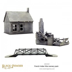 Black Powder French Indian War Scenery Pack