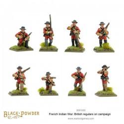 Black Powder FIW British Regulars on Campaign