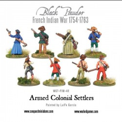 Black Powder Armed Colonial Settlers