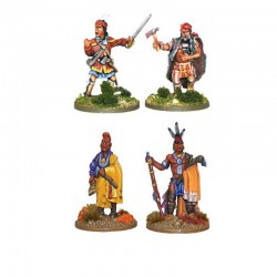 Black Powder Indian Characters