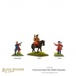 Black Powder British Characters: Washington, Monro & Wolfe