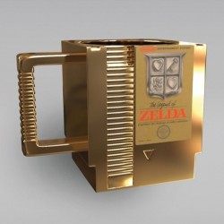 ZELDA Kubek 3D cartridge shape 300ml