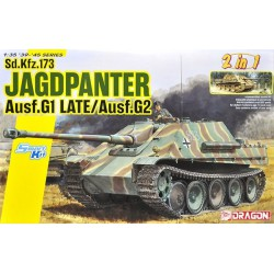 Dragon 6924 1:35 Jagdpanther Ausf.G1 Late Production / Ausf.G2 2 in 1