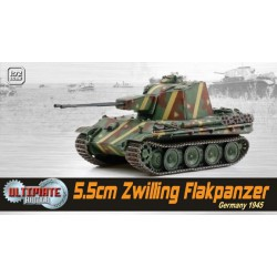 Dragon 60593 1:72 5.5cm Zwilling Flakpanzer Germany 1945