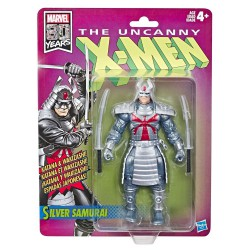 Silver Samurai X-Men Retro Action Figure 15 cm 2019 Wave 1