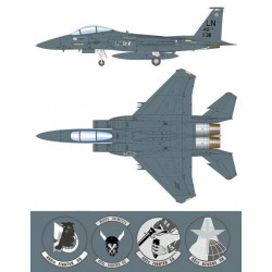 Easy Model EA33301 1:72 F-15E Strike Eagle 91-311 LN 48FW