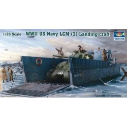 Trumpeter 00347 1:35 WWII US Navy LCM (3) Landing