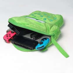 Splatoon 2 Plush Pouch for Nintendo Switch Green