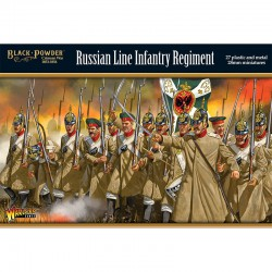 Black Powder Crimean War Russian Line Infantry