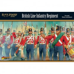 Black Powder Crimean War British Line Infantry Regiment