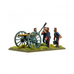 Black Powder Crimean War British Royal Artillery with 9-pdr Cannon