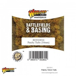 Warlord Scenics Patchy 10mm Tufts