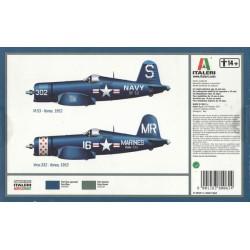Italeri 0062 1:72 Corsair F-4U/4B