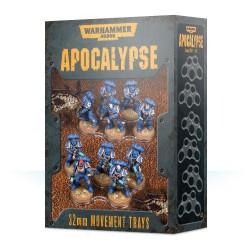 Warhammer 40000 Apocalypse Movement Trays 32mm